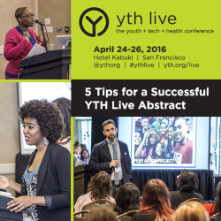 5 Tips for a Successful YTH Live Abstract
