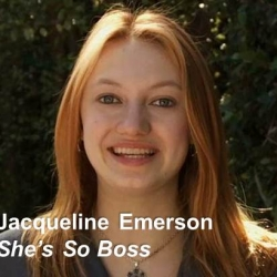 YTH Live TO FEATURE SHE'S SO BOSS HOST AND HUNGER GAMES FOXFACE, JACQUELINE EMERSON