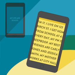 Between 2 Screens: Privacy for the Snapchat Generation