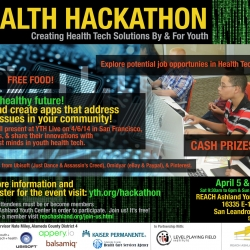 Media Advisory: YTH Health Hackathon at REACH powered by LPFI