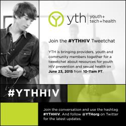#YTHHIV Tweetchat 2015 Recap