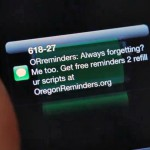 Oregon Reminders medicaiton text messages