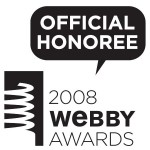 mobile Webby Award nominee 2008