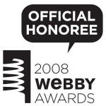 mobile Webby Award nominee 2008